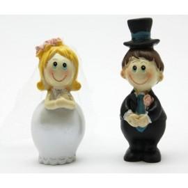 Casal noivos com altura 6 cms altura