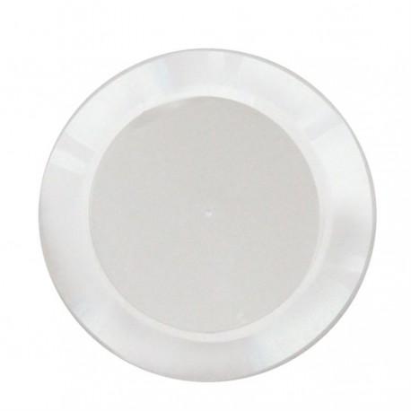 Prato acrìlico para molotof 21 cm