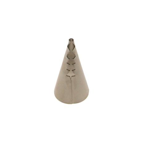 Bico saco de pasteleiro corneto 090 rasgo lateral decora