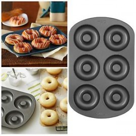 Tabuleiro - forma donuts Wilton 6 cavidades