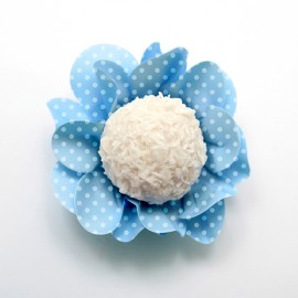 Formas papel azul style 40 unid. brigadeiros - bombom