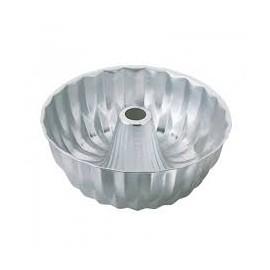 Forma de alumínio com buraco com 25x10 cms Wilton