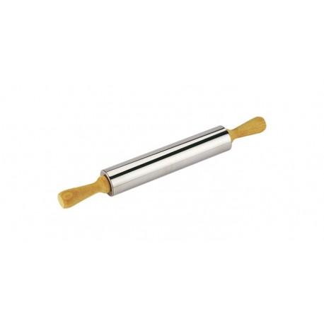 Rolo da massa inox 25 cms Tescoma