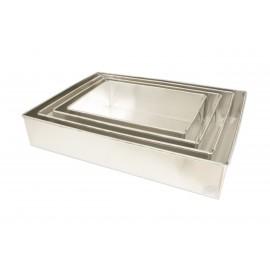 Forma alumínio rectangular 30x21x7 cm