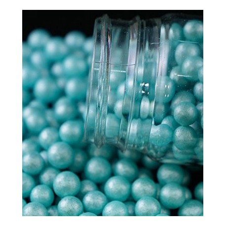 Pérolas cor azul 70 gr. tamanho L