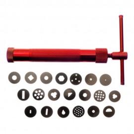 Pistola modeladora clay gun modecor