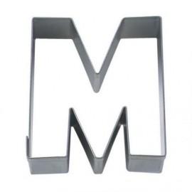 Cortante em metal 6,5 cms letra M