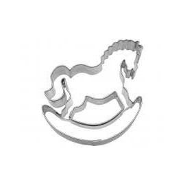 Cortante em metal 6.5 cm cavalo de baloiço