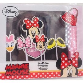 Conj. velas minnie disney