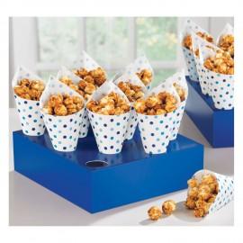 Suporte cartão azul cones + cones
