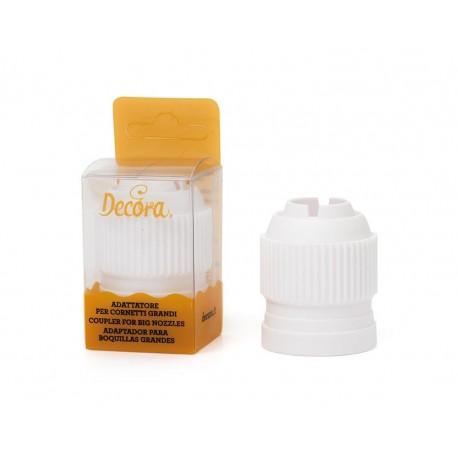 Adaptador para bicos Decora grande base 3.5 cms