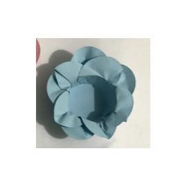 Formas papel azul claro 20 unid. brigadeiros - bombom - flor