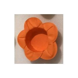 Formas papel laranja 40 unid. brigadeiros - bombom - flor
