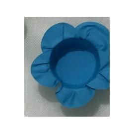 Formas papel azul 40 unid. brigadeiros - bombom - flor