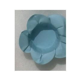 Formas papel azul claro 40 unid. brigadeiros - bombom - flor