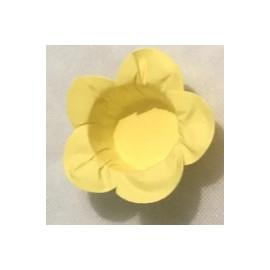 Formas papel amarelo 40 unid. brigadeiros - bombom - flor