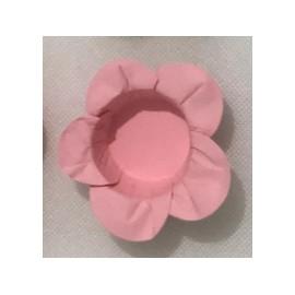 Formas papel rosa 40 unid. brigadeiros - bombom - flor