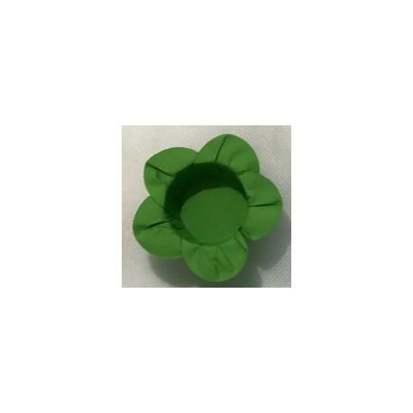 Formas papel verde 40 unid. brigadeiros - bombom - flor