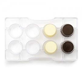 Molde policarbonato copinho chocolate - decora