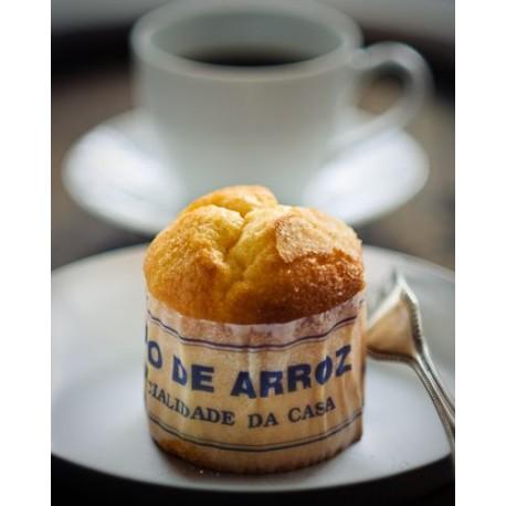 Preparado Bolo de arroz - muffin 500 gr.