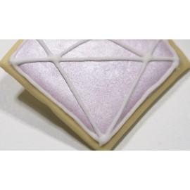 Glacê diamante rosa - 70 gr.