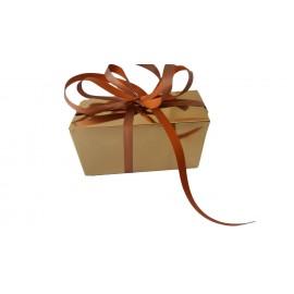Caixa dourada 18,5x10,8x7,8 cm