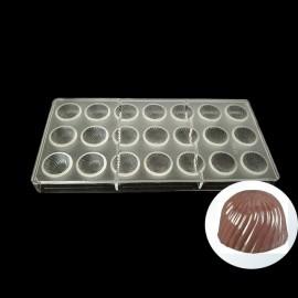 Molde policarbonato bombons - riscado - girassol