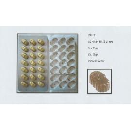 Molde policarbonato bombons elegante