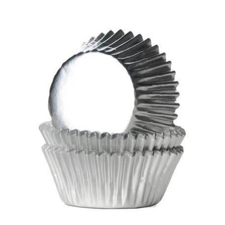 Forma papel nº 2 prata 1500 unid. brigadeiro-bombom