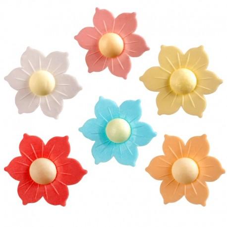 Flor hostia 5 cms gilio