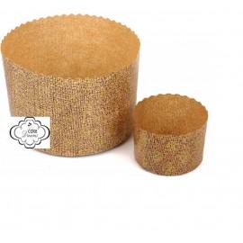 Forma papel para mini panetone diametro 13 cms alt. 9 cm