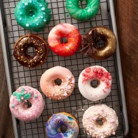 Tabuleiro - forma mini donuts Wilton 12 cavidades