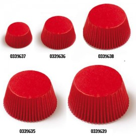 Petifur forma papel vermelho 40x207 mm - 120 unid. Decora