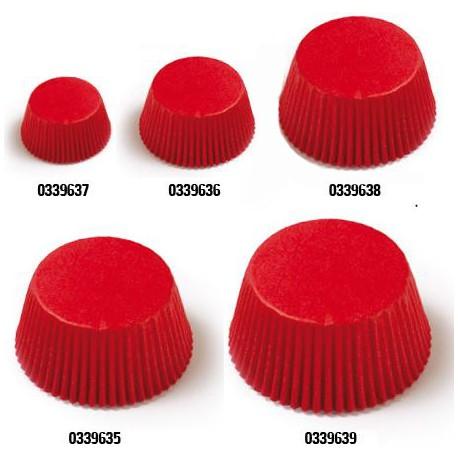 Petifur forma papel vermelho 40x20 mm - 120 unid. Decora