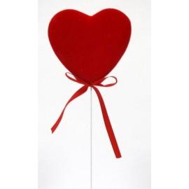 Coração com 9 cms e pico - pack 5 unid.