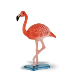Flamingo - Bullyland - animais selvagens