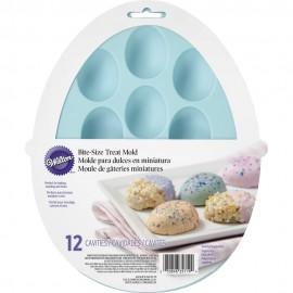 Molde silicone chocolate - massa - Ovos Wilton