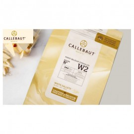 Chocolate Branco W2 Callebaut 1kgmin. 28% cacau