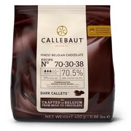 Chocolate Escuro 70-30-38 Callebaut 400g - 70.5% cacau