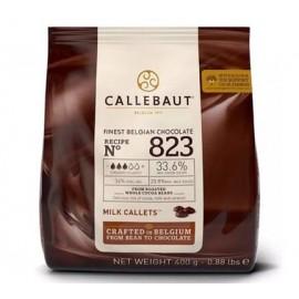 Chocolate Leite Callebaut 400g