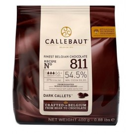 Chocolate Escuro 811 Callebaut 400g - 54.5%