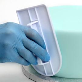 Alisador fondant - pasta açúcar com 14,5x8 cms Modecor