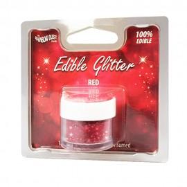 Gliter vermelho - Red comestivel