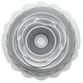 Forma rose bundt cake diâmetro 20 cms alt. 8 cms Decora