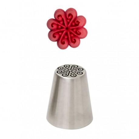 Bico pasteleiro flor de creme swirl n. 74 decora