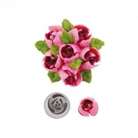 Bico pasteleiro flores creme nº 242 decora