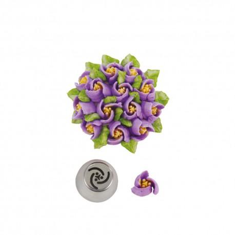 Bico pasteleiro flores creme tulipa nº 36 decora