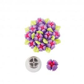 Bico pasteleiro flores creme nº 28 decora