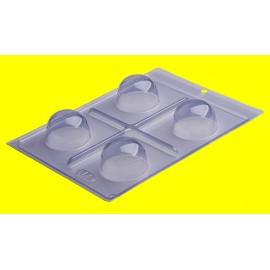 Molde acetato 3 peças trufa grande Porto formas
