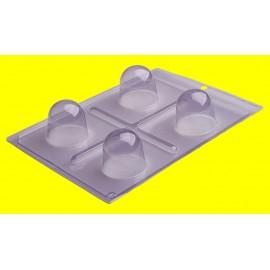 Molde acetato 3 peças mega trufa Porto formas